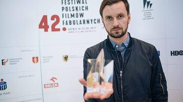 Mała Gala na Festiwalu Filmów Fabularnych w Gdyni. Piotr Domalewski