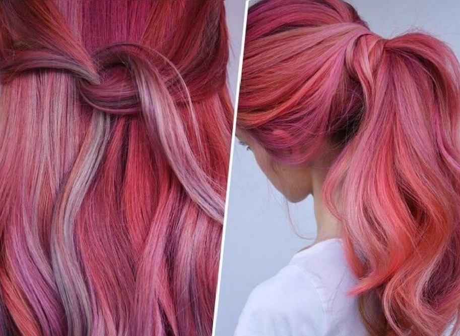 Flamingo Hair