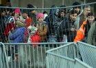 Austria Uchodźcy na granicy austriacko-słoweńskiej