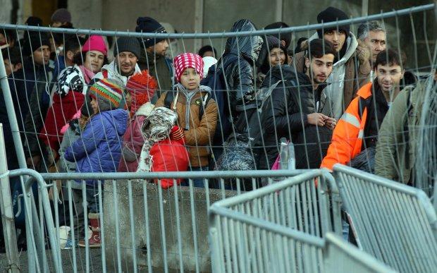 Austria Uchod�cy na granicy austriacko-s�owe�skiej