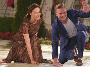 Magdalena R�czka i Jakub Weso�owski w Mi�dzyzdrojach