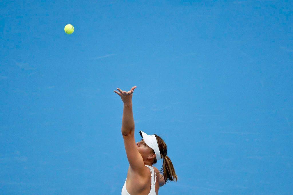 Zdjęcie numer 5 w galerii - WTA Tiencin. Magda Linette walczyła, ale przegrała z Marią Szarapową