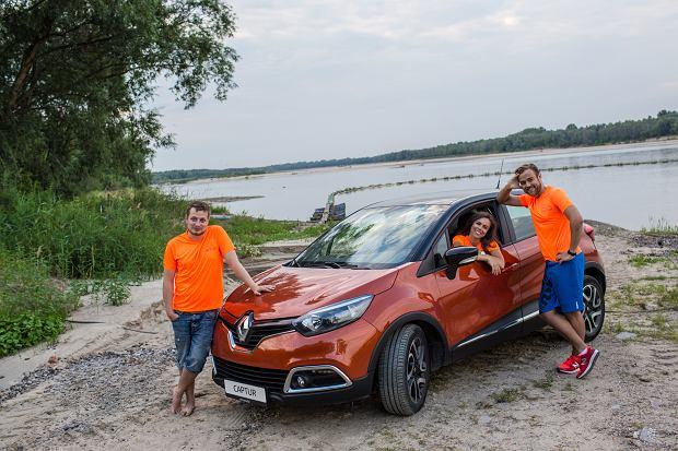 Marlena, Dominik i Damian z Ekipy EkstRemalnej 2