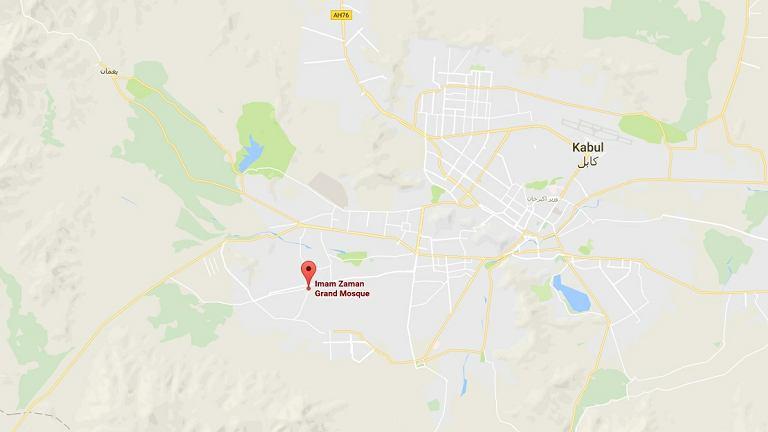 Meczet Imam Zaman, Google Maps
