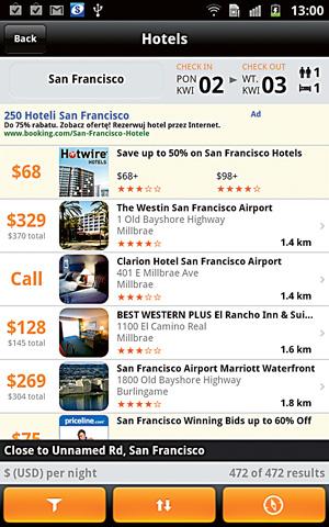 Tagi: top 10, aplikacja, podróże, android, apple, Top 10: aplikacje podróżnicze, Kayak