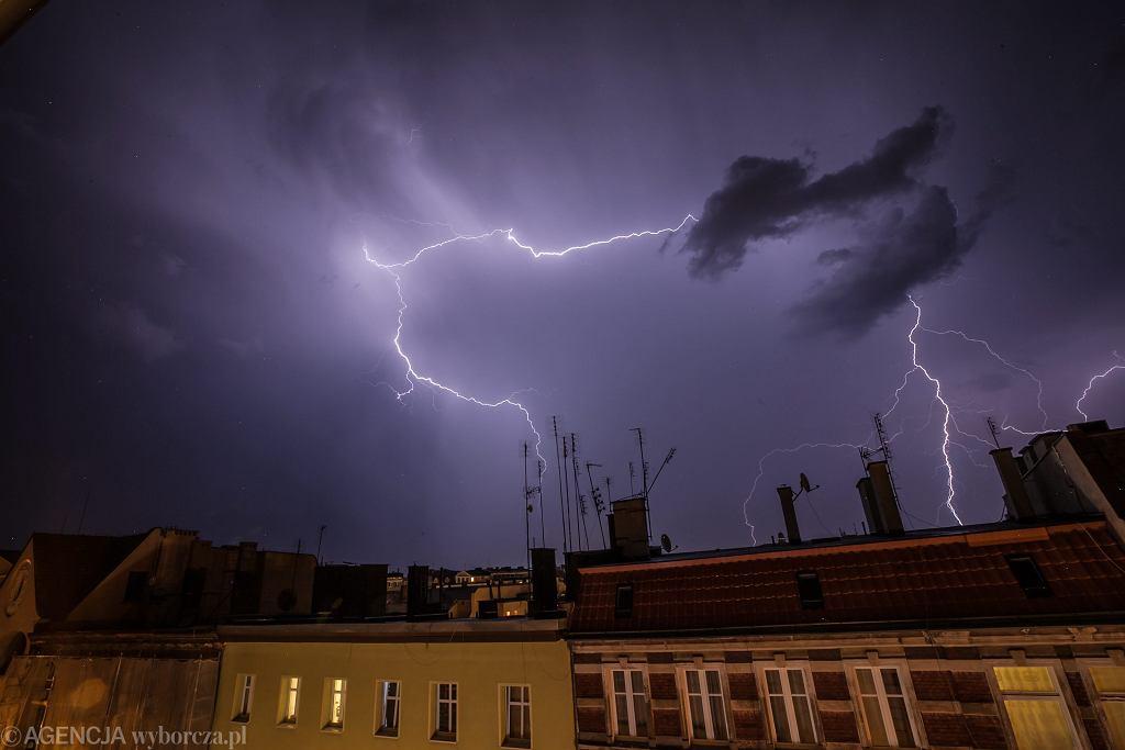 Pogoda w Radomiu. Ostrzeżenie przed burzami