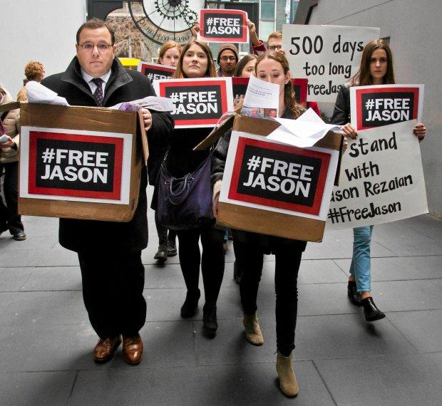 Pikieta ws. uwolnienia Jasona Rezaiana