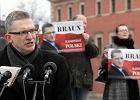 Kandydat na prezydenta Grzegorz Braun winny stosowania przemocy wobec policjanta