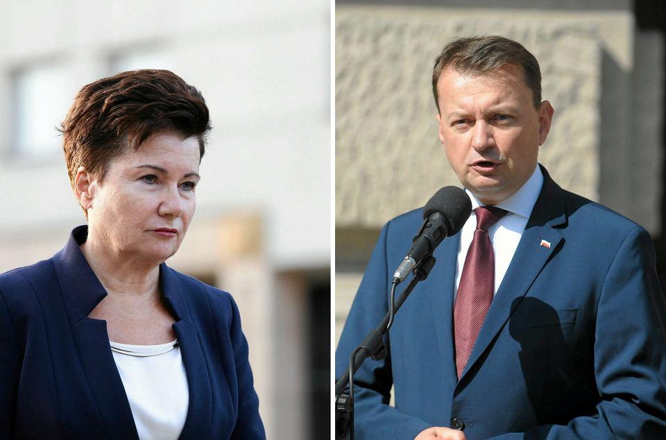 Gronkiewicz-Waltz prosi Błaszczaka o pomoc w walce z przestępstwami