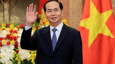 Prezydent Wietnamu Tran Dai Quang w marcu tego roku