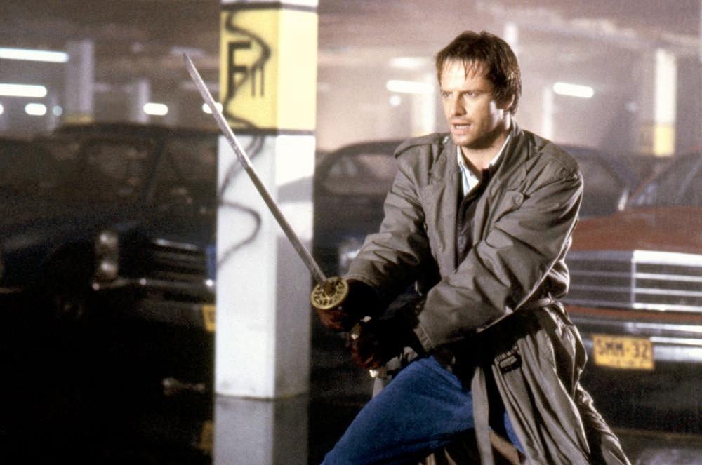 Christopher Lambert w filmie 'Nieśmiertelny' / fot.TM and 20th Century Fox Film Corp, mat. promocyjne