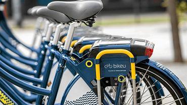 Stacja rowerów miejskich w Krakowie
