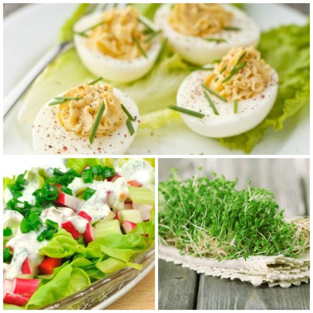 Wielkanocne jedzenie te� jest zdrowe.