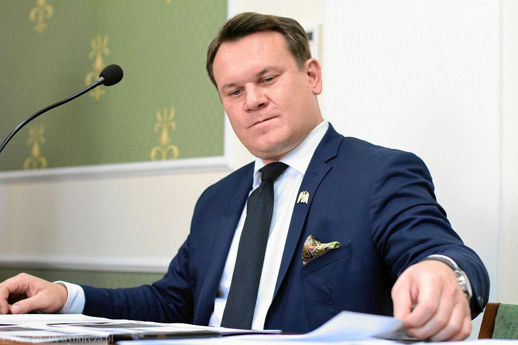 Dominik Tarczyński w sądzie