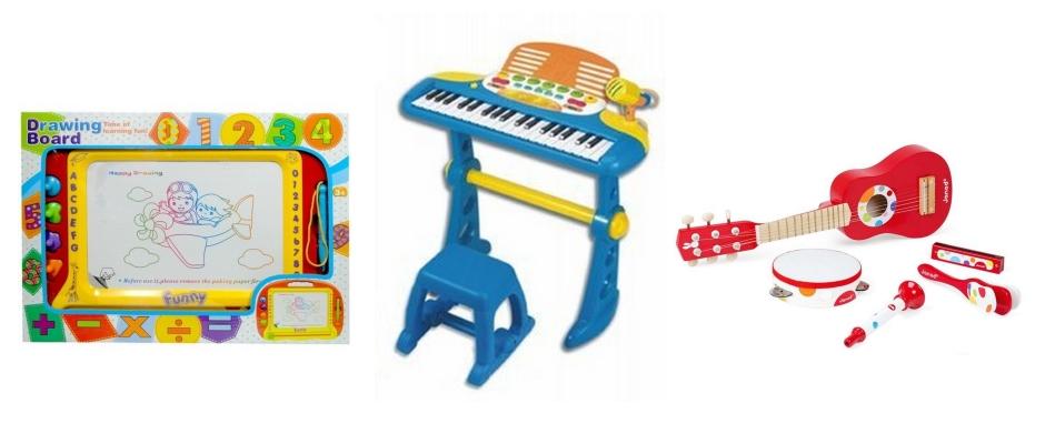 Zabawki na kreatywność