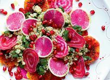 Sałatka z rzepy arbuzowej i buraka chioggia - ugotuj