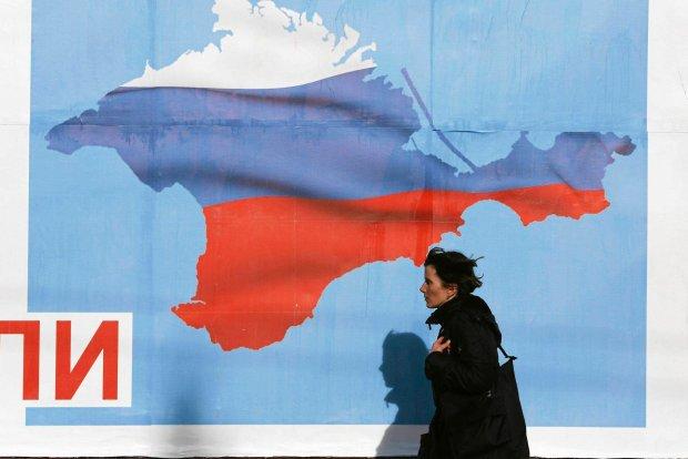 Przedreferendalny plakat okaza� si� proroczy. Krym w�a�ciwie nale�y ju� do Rosji