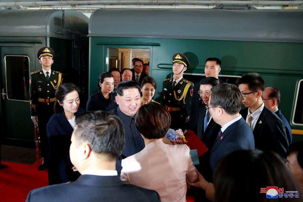 Wizyta Kim Dzong Una w Pekinie