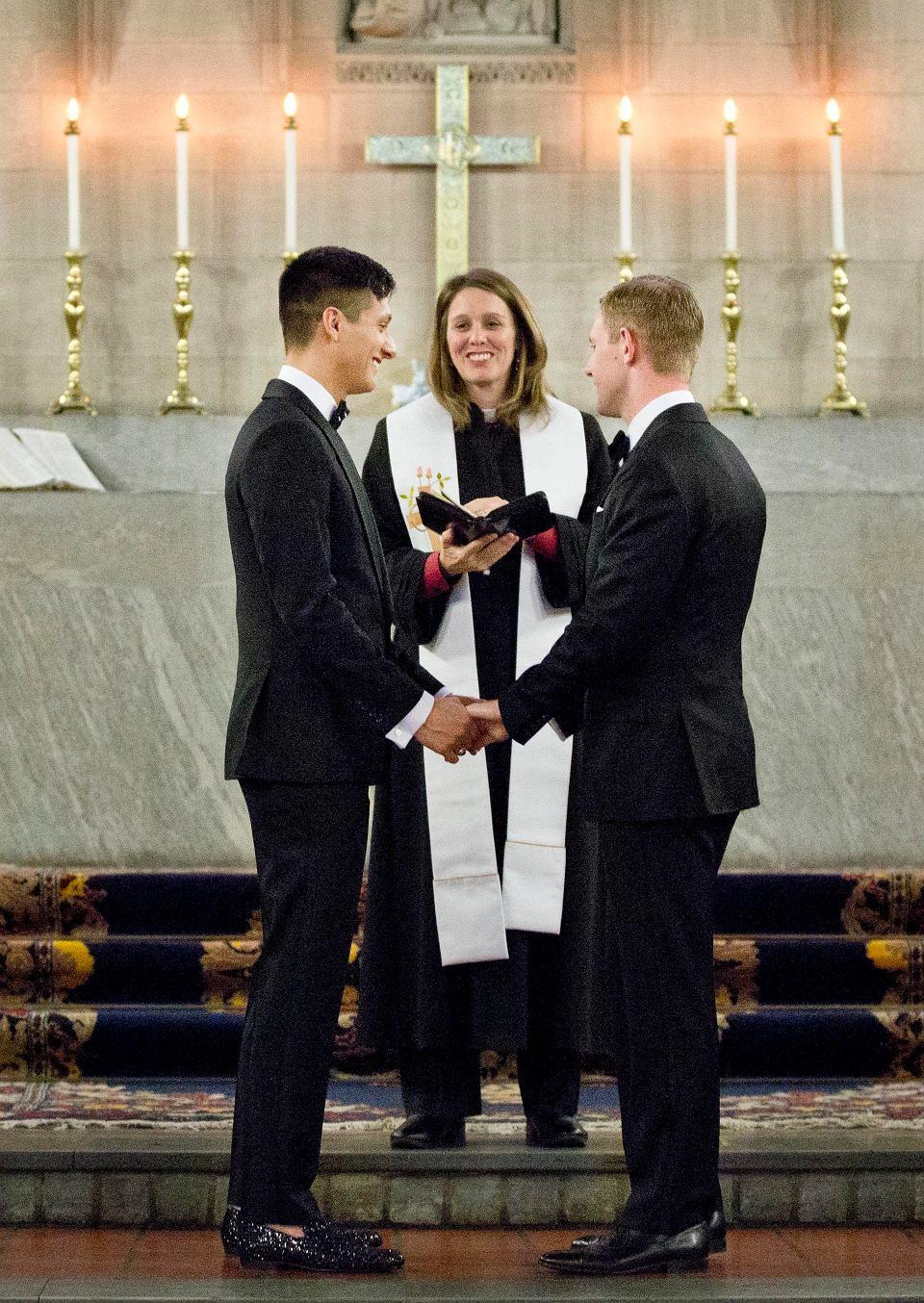 Historyczny ślub Gejów W Akademii West Point Zdjęcie Nr 2