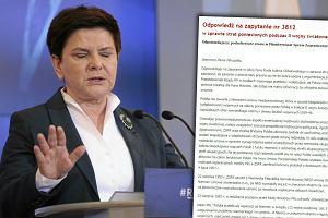 Rząd PiS jednak nie chce reparacji od Niemiec? Opublikowano zaskakujące pismo MSZ