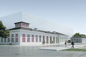 """Sinfonia Varsovia. Nowa siedziba nie będzie osłonięta """"lewitującym murem"""" [NOWE WIZUALIZACJE]"""