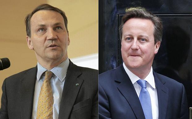 Brytyjski europose� odnosi si� do s��w Sikorskiego dot. Davida Camerona nagranych na ta�mach