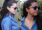 Selena Gomez zaokr�gli�a si�, ale dla niej to nie problem. Bia�e leginsy? Odwa�ny wyb�r. I BARDZO udany