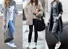 Białe buty w trzech stylizacjach