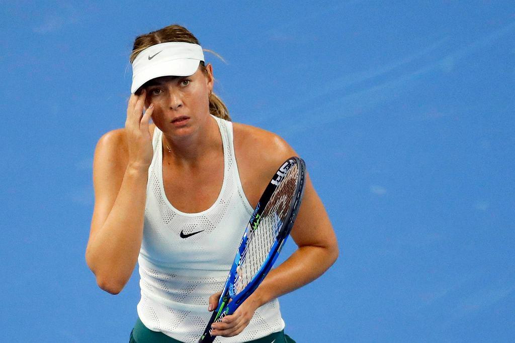 Zdjęcie numer 4 w galerii - WTA Tiencin. Magda Linette walczyła, ale przegrała z Marią Szarapową