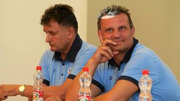 Prezes Piotr Sieńko (z prawej)