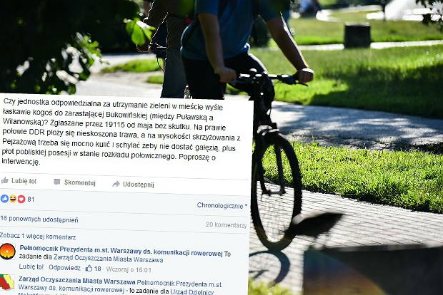 """""""Bareja wiecznie żywy"""". Urzędnicy z ratusza publicznie wymigują się od koszenia trawy. Na Facebooku"""