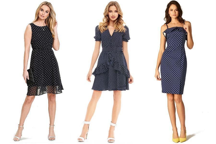 Sukienki w groszki
