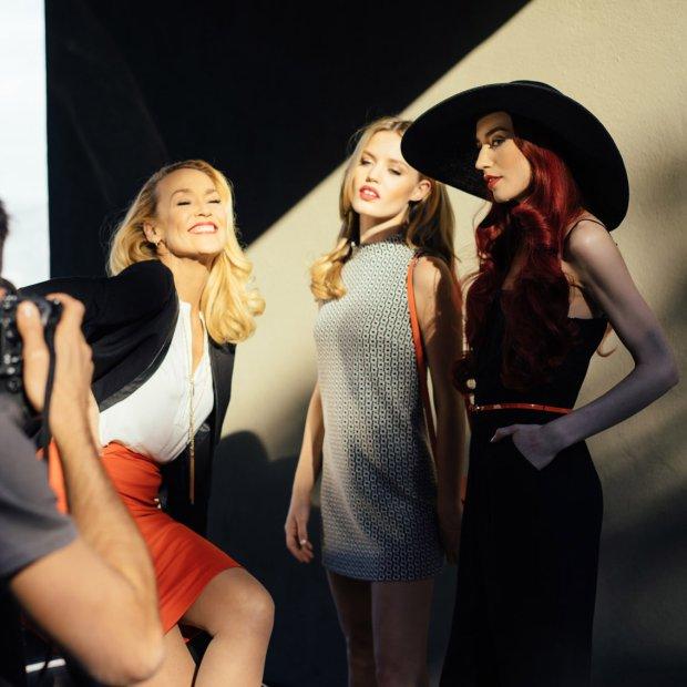Jerry Hall i siostry Jagger dla Reserved: zagl�damy za kulisy wiosennej kampanii [DU�O ZDJ��]