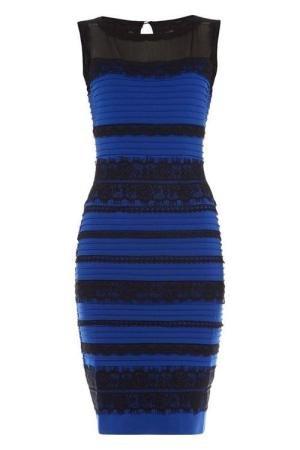 90d1221ad6 Jakiego koloru jest ta sukienka  Wszyscy mają z tym problem ...