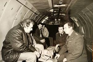 Jak wojskowi po serca dla Zbigniewa Religi latali: do Szczecina, Moskwy i Berlina