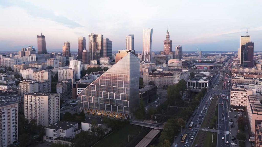 Intrygujący Biurowiec W Samym Centrum Warszawy Będzie Wyglądał Jak