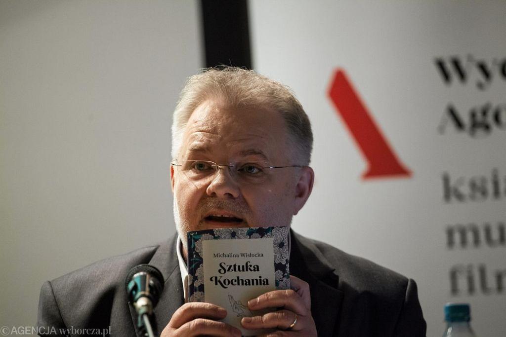 Profesor Zbigniew Izdebski (fot. Dawid Zuchowicz / Agencja Gazeta)