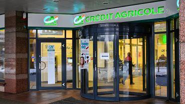 Oddział banku Credit Agricole w Warszawie.