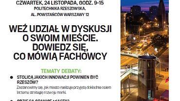"Plakat ""Pracownia miast"""
