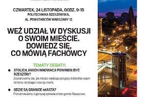 """""""Pracownia miast: Rzeszów"""". Zobacz, kim będą nasi paneliści"""