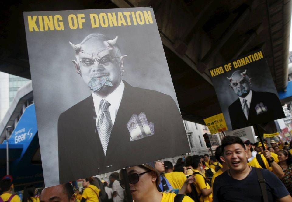 Protesty w Malezji