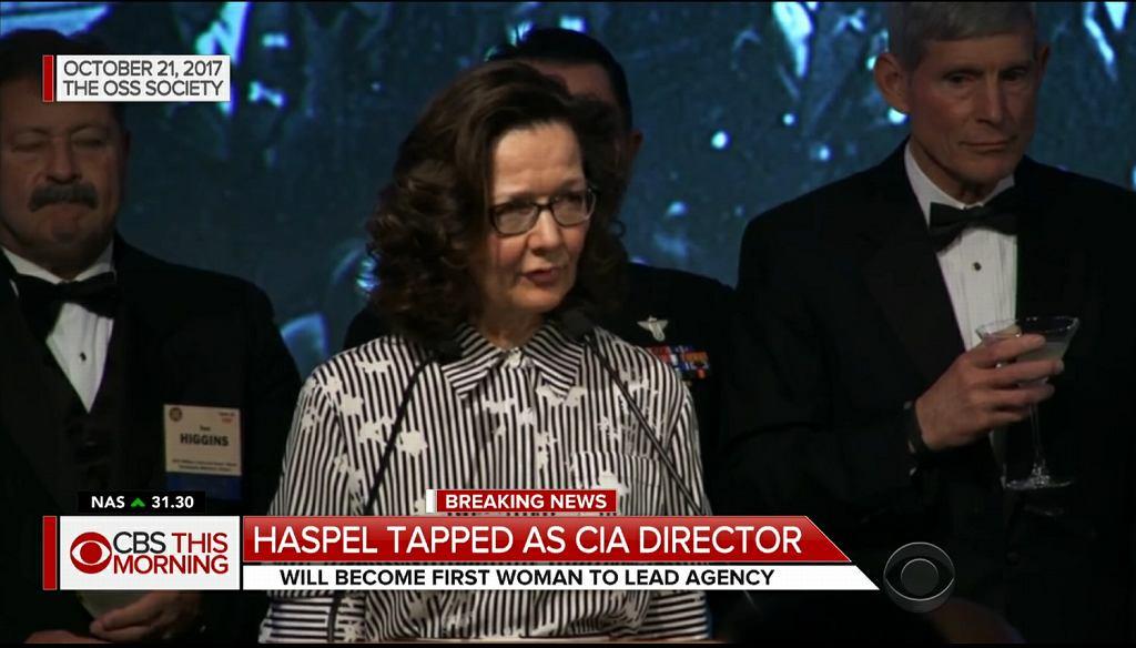 Nowa szefowa CIA Gina Haspel