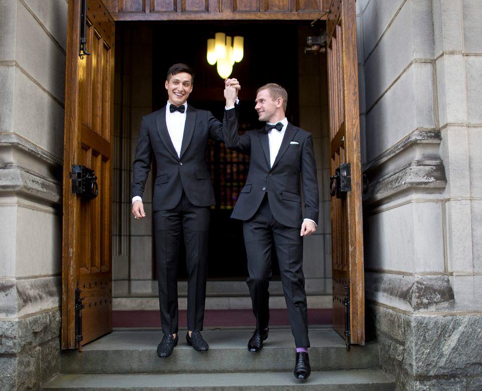 Historyczny ślub Gejów W Akademii West Point Zdjęcie Nr 1