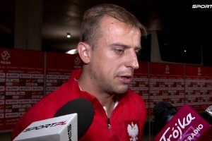 """Mecz Polska - Holandia. Grosicki: """"Graliśmy z bardzo dobrym zespołem"""""""