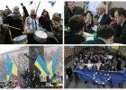 """Strajk studentów ogarnia ukraińskie uczelnie. Chcą do Unii. A premier pyta: """"Czym jesteśmy? Polem bitwy?"""""""