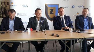 Konferencja w sprawie powołania MUKS CWZS Zawisza