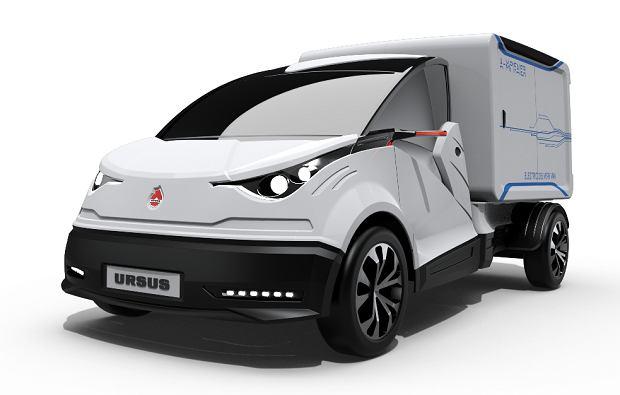 Ursus stworzy elektryczne auto dostawcze! Prototyp już za miesiąc
