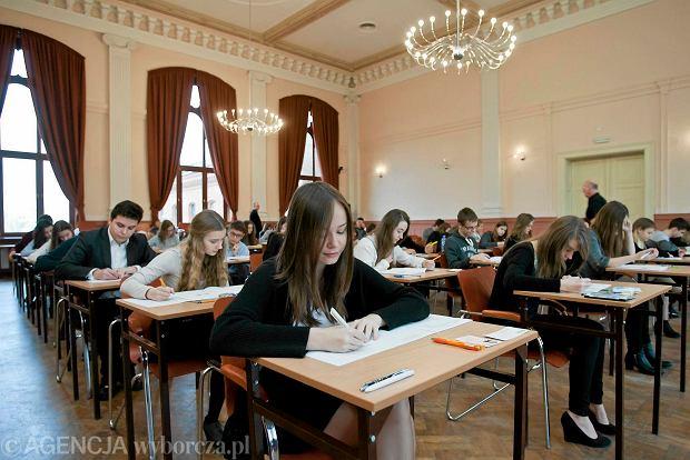 Egzamin gimnazjalny 2015. Sprawd� swoje wyniki na stronie OKE!