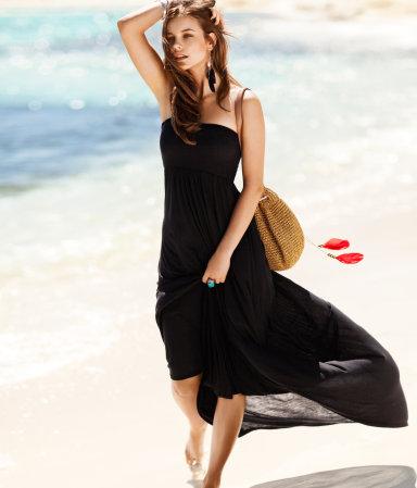 4ddc65cb7f Sukienki bez ramiączek na lato 2012 - ponad 30 propozycji!