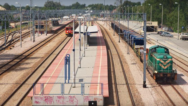 Stacja kolejowa Legionowo